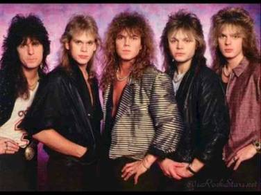 1980s rock band Europe
