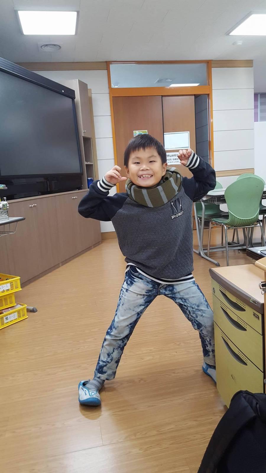 3rd grade student Hyeong Jin