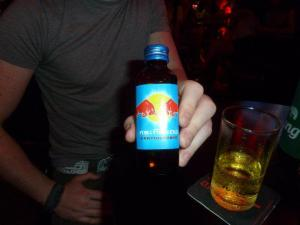 Essential fuel for wild nights in Bangkok - M150 Red Bull